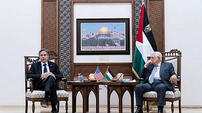بلينكن يعلن عن مساعدات أمريكية لغزة ويتعهد بإعادة فتح قنصلية القدس
