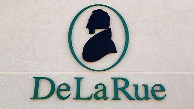 Banknotes printer De La Rue's annual profit surges