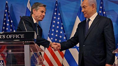 Blinken anuncia ayuda de EEUU a Gaza y se compromete a reabrir el consulado en Jerusalén