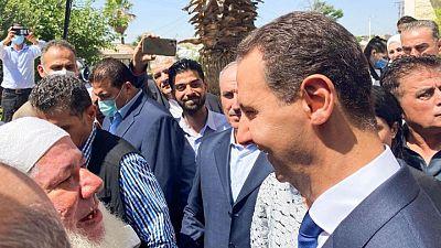 """الأسد يقول قيمة آراء الغرب بشأن الانتخابات """"صفر"""""""