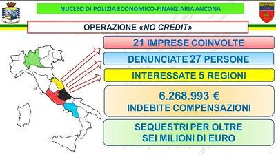 Gdf Ancona, coinvolte 27 persone e 21 società di diverse regioni