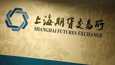 "Bolsa de Futuros de Shanghái pondrá tope a giros ""no razonables"" de precios: presidente"