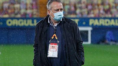El presidente del Villarreal se perderá la final de la Europa League