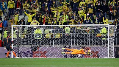 Villarreal gana la Europa League tras vencer al Manchester United en los penales