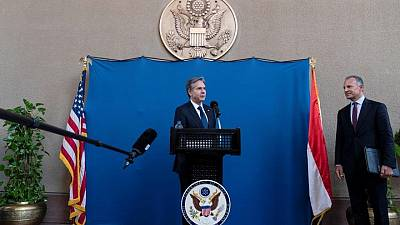Blinken says he discussed Egypt's human rights record with Sisi