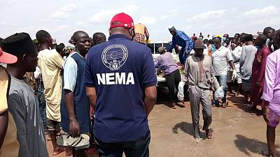 Boat carrying 200 people capsizes in Nigeria