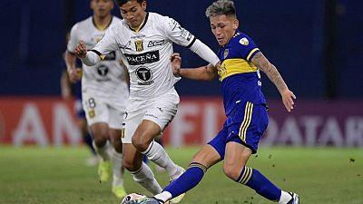 Boca Juniors golea y avanza a octavos en la Libertadores; clasifican Internacional, Católica y Olimpia