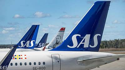 Airline SAS' Q2 loss shrinks as pandemic pains linger