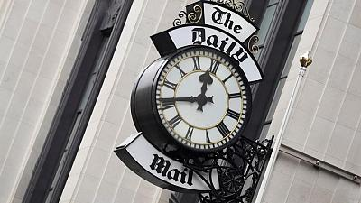 UK's Daily Mail publisher reports 20% drop in first-half profit