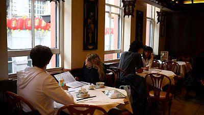 UK restaurant bookings soar as indoor dining restarts