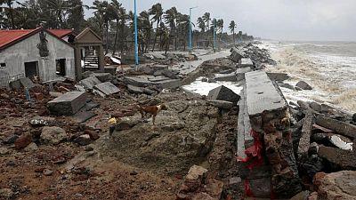 الإعصار ياس يشرد أكثر من 150 ألفا في شرق الهند