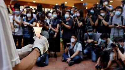 Hong Kong bans Tiananmen vigil for second year running, citing coronavirus