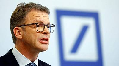 Deutsche Bank overhaul ahead of plan, CEO tells investors