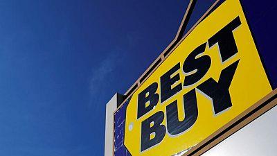 Best Buy raises full-year sales forecast on stimulus spending boost
