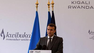 France's Macron says 'apologise' is not the right word in Rwanda genocide