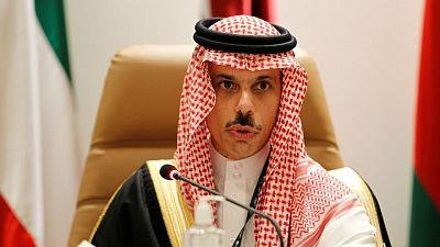 التلفزيون السعودي: وزير الخارجية يبحث التحديات الإقليمية في اتصال هاتفي مع بلينكن