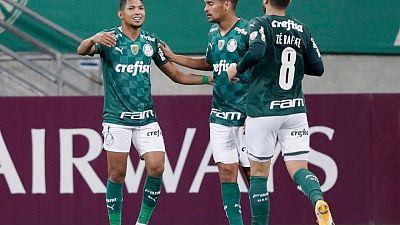Palmeiras cierra con goleada fase de grupos de la Libertadores