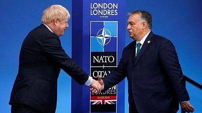 Hungary PM laments loss of UK from EU ahead of Johnson meeting