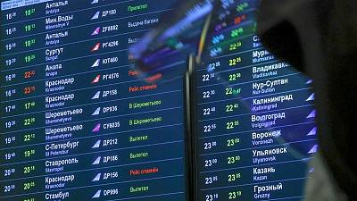 Russian aviation authority tells airlines to expect delays on Europe-Russia flights