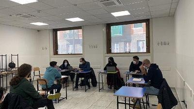Focus dell'istituto paritario Freud di Milano su 700 iscritti