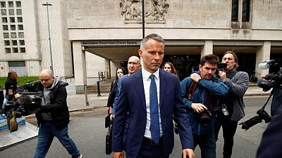 Court sets Jan. 24 trial date for former Man Utd player Giggs