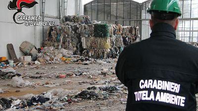 Operazione Dogane-Carabinieri Noe, sequestrati16 container