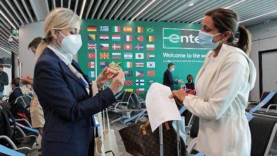 All'aeroporto di Fiumicino sorpresa per omaggi Made in Italy