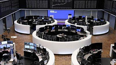 أسهم أوروبا عند ذروة قياسية بفضل الشركات المالية