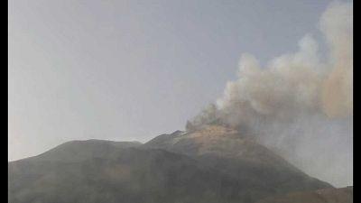 Ennesima attività dal Cratere di Sud-Est del vulcano