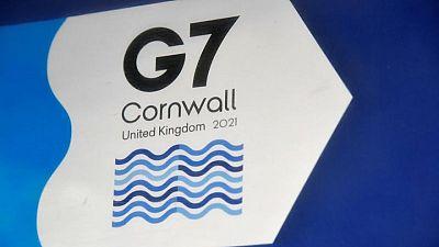 Cornish 'mizzle' forces Johnson to change Biden meeting venue