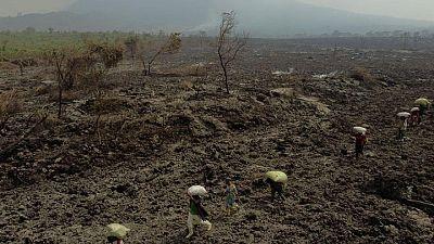 ثوران محدود لبركان ثان في شرق الكونجو