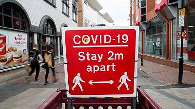 بريطانيا تسجل 3398 إصابة جديدة وسبع وفيات بفيروس كورونا