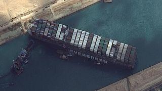 محكمة مصرية تؤجل البت في قضية السفينة إيفر جيفن المحتجزة بقناة السويس
