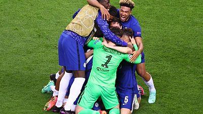 Chelsea vence 1-0 al Manchester City en la final de la Liga de Campeones con gol de Havertz