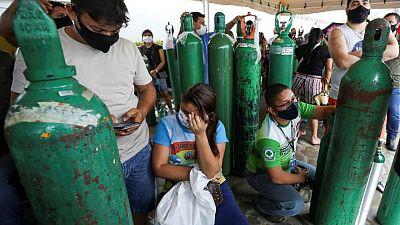 Brasil registra más de 460.000 muertes por COVID-19