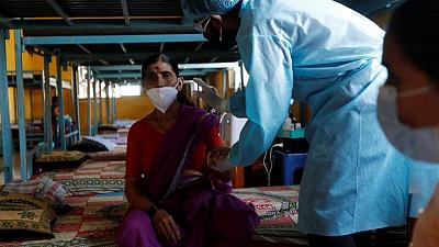 India reports 3,460 more COVID-19 deaths, over 165,000 new infections