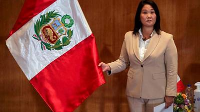 Peru election race tightens a week before polarized vote