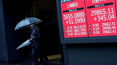 هبوط أسهم اليابان بفعل مخاوف التباطؤ جراء ارتفاع الإصابات بالفيروس
