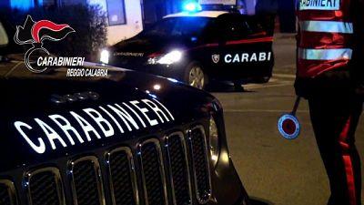 Reggio C.,due arresti per tentata estorsione e danneggiamento