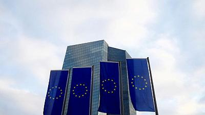 New euro zone business loans plunge in April