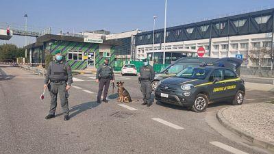 In provincia Udine in edificio disabitato. Valore oltre 5mln