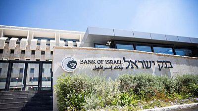 بنك إسرائيل يبقي سعر الفائدة القياسي عند 0.1%