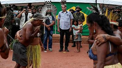 Bolsonaro pledges to keep mining out of Yanomami reservation in Amazon