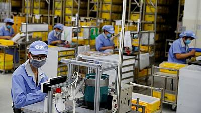 China factory growth picks up in May but inflation pressures build - Caixin PMI