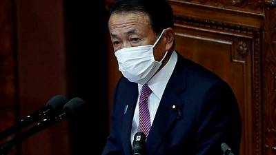 Japan Finance Minister: don't expect specific tax rates to be debated at G7