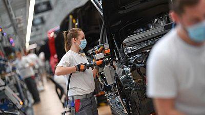 German manufacturing hums along in May despite supply bottlenecks: PMI