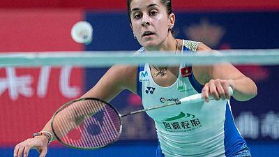 La campeona de bádminton Carolina Marín no estará en los Juegos de Tokio por lesión