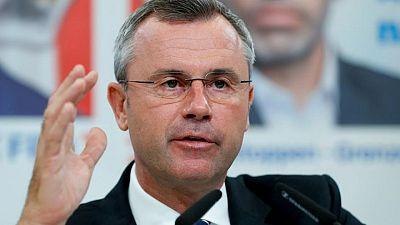 Austrian far-right leader quits, leaving succession open