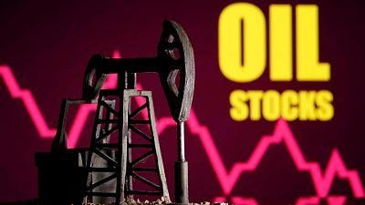 أسعار النفط تغلق على هبوط حاد في أعقاب إلغاء اجتماع أوبك+