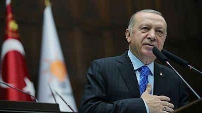 """الرئيس التركي يقول إنه سيعلن يوم الجمعة عن """"أخبار سارة"""" بخصوص احتياطيات الغاز في البحر الأسود"""